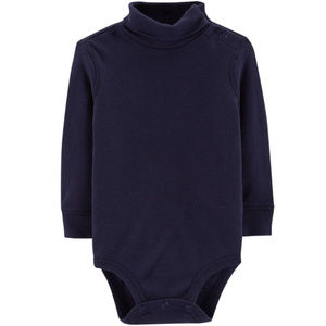 Oshkosh B'gosh Dark Blue Turtleneck Bodysuit Baby